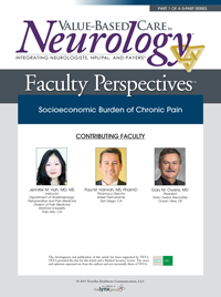 Faculty Perspectives in Chronic Pain: Socioeconomic Burden of Chronic Pain