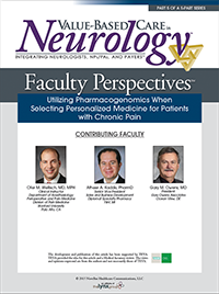 Faculty Perspectives in Chronic Pain:Utilizing Pharmacogenomics When Selecting Personalized Medicine for Patients with Chronic Pain